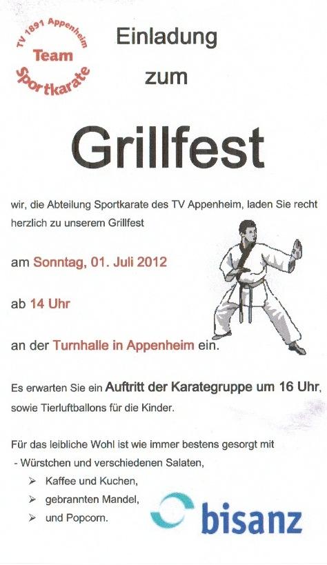 Einladung Grillfest – Thegirlsroom.Co
